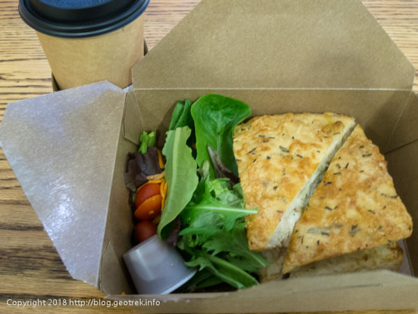 171111ダラス空港のサンドイッチ