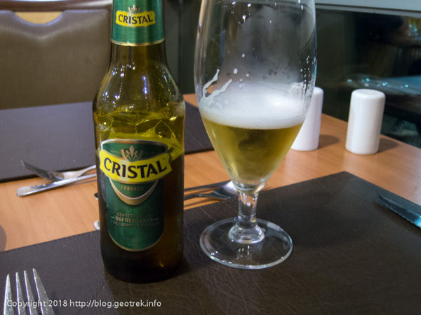 171115 ホテルでビール