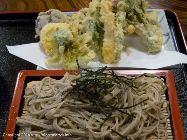 180505 信吉の山菜天ぷらそば