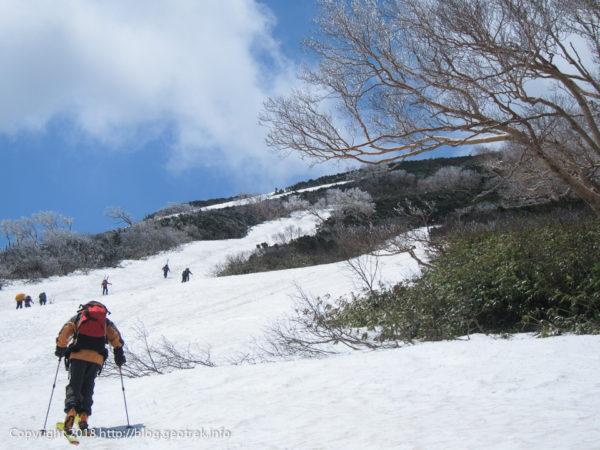 180505 燧ヶ岳への登りはじめ