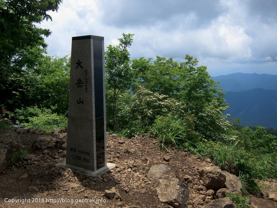 180609 大岳山山頂