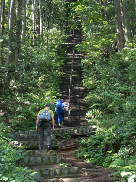 180609 愛宕神社への階段