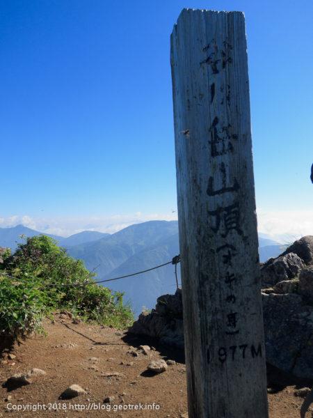 180714 オキノ耳山頂