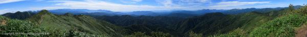 180818 白砂山山頂の眺め