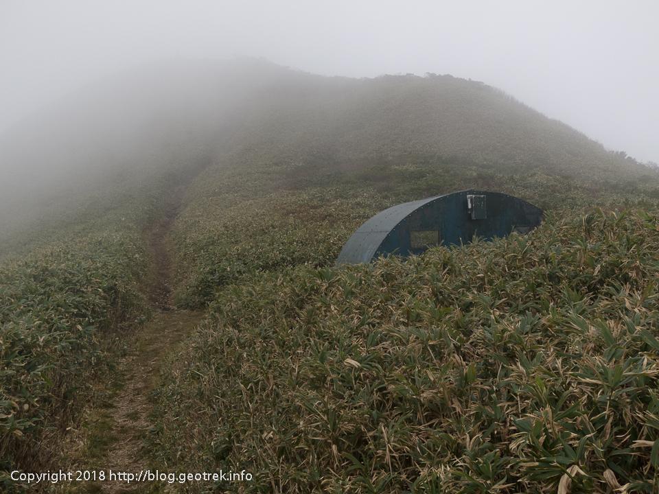 181013 笠ヶ岳避難小屋
