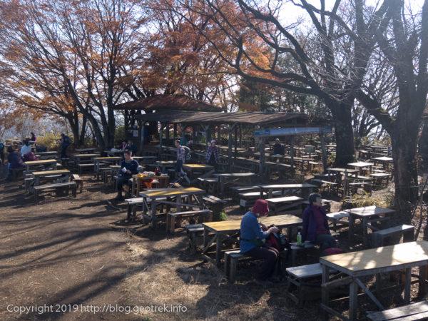 181127 景信山の茶屋