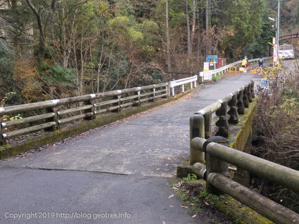181208 林道盆堀線入口