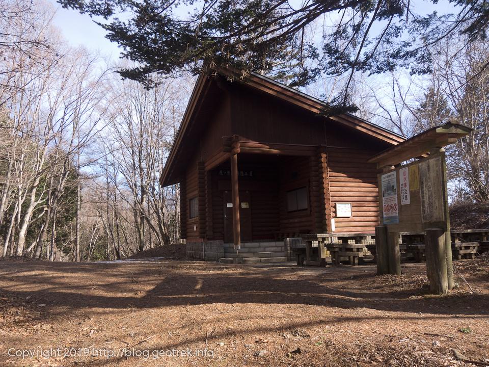 190119 鷹ノ巣避難小屋