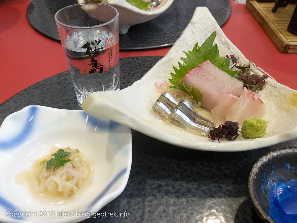 190223 レインボー桜島夕食