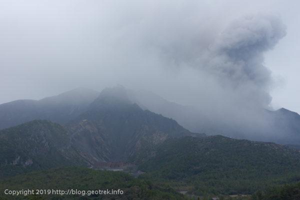 190224 湯之平展望所から桜島