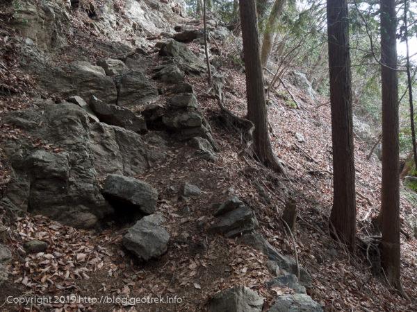 岩茸石山や、ちょっと岩場