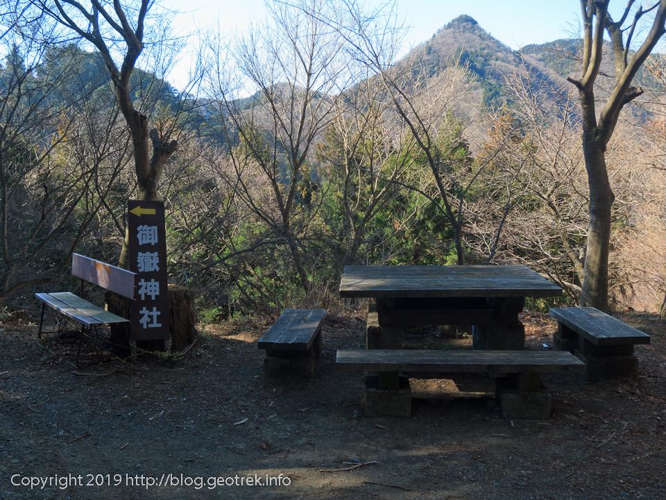 大塚山への分岐