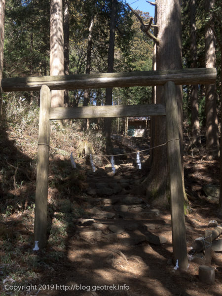 大岳神社の鳥居