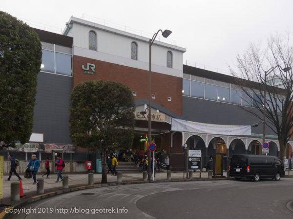 武蔵五日市駅からハセツネ30の会場へ