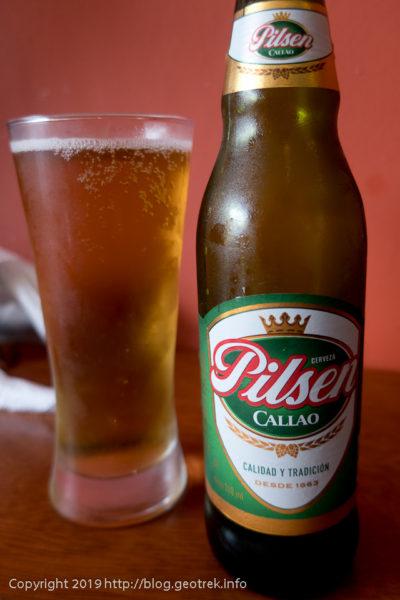 0427 ペルーのビール、pilsen