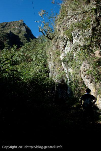 190501 マチュピチュ山山頂をのぞむ
