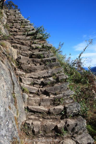 190501 頂上直下の石段