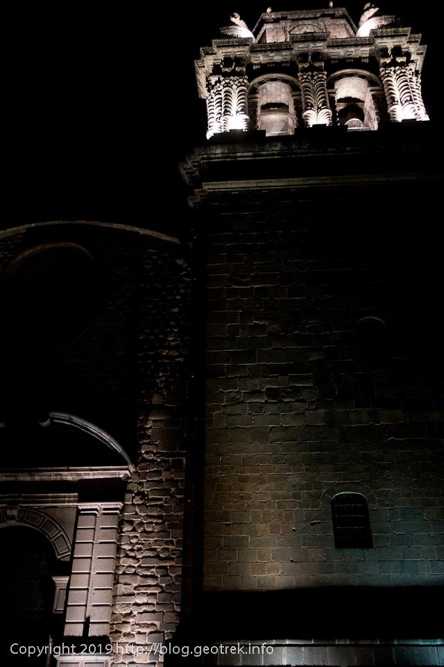 190501 夜のサントドミンゴ教会