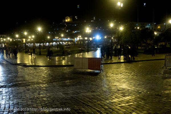 190502夜のアルマス広場