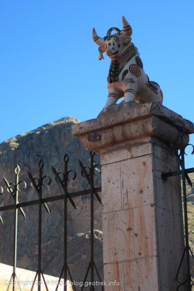 190503プカラの境界の門柱