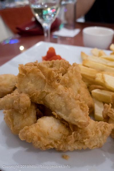 ペルー料理、鳥の胸肉のフリット