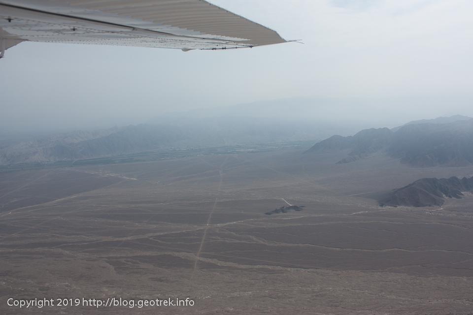 ナスカ上空からナチュラルミラドール
