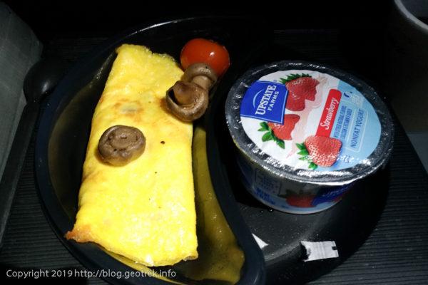 0427 機内食の朝食