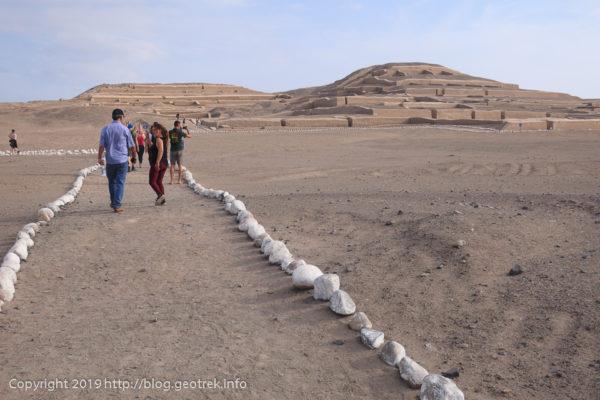 カワチ遺跡の神殿