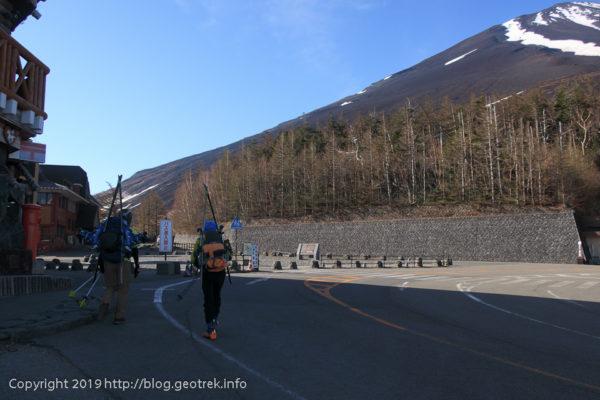 190526 五合目から吉田登山道へ