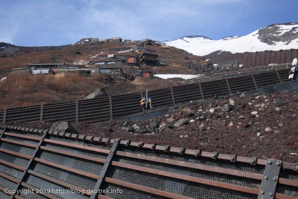 190526 吉田口登山道を登る
