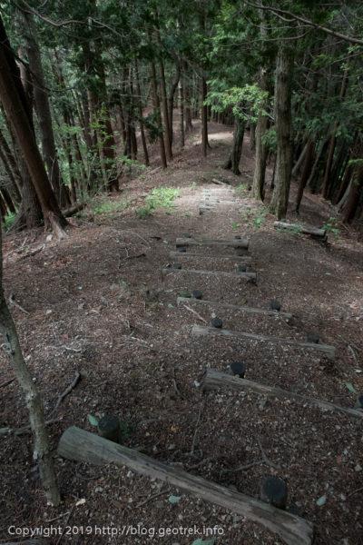 190616 埋もれかけた細かい階段