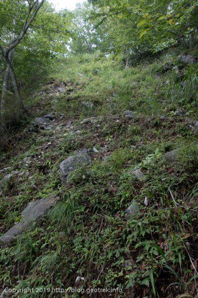 190721 惣岳山への登り