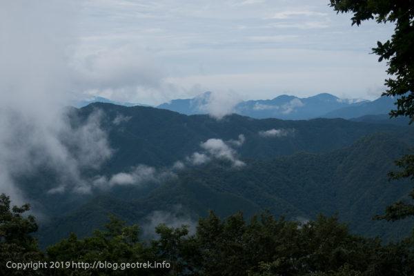 190721 槇寄山山頂からの展望