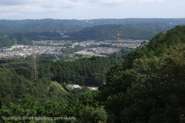 190920 今熊山から武蔵五日市の市街