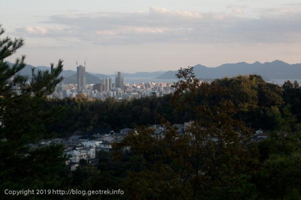 191022 三瀧寺から広島市街