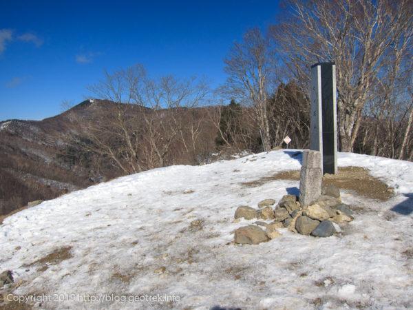 191229 七ツ石山山頂