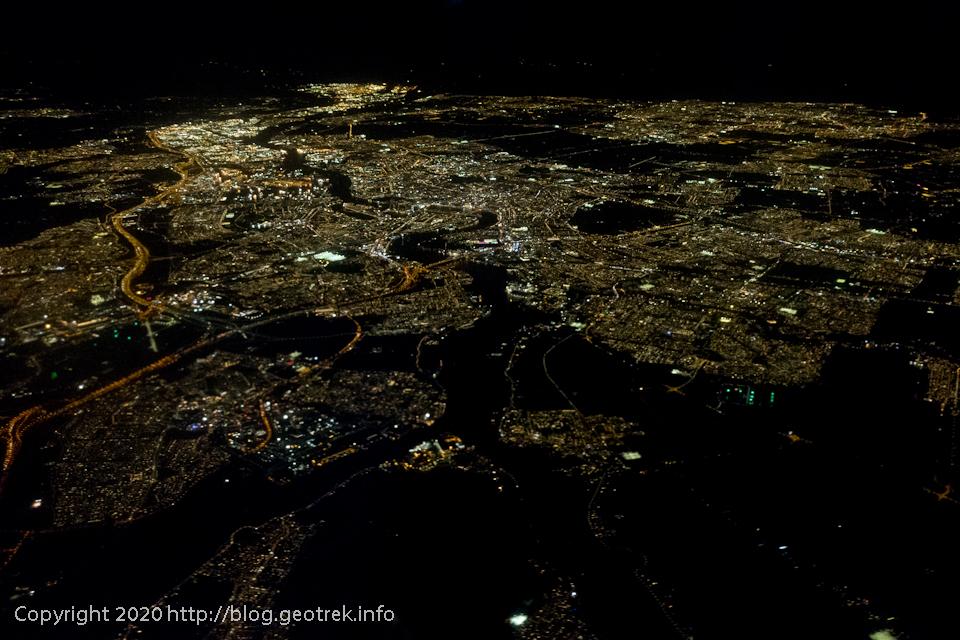 200116 アムステルダムの夜景