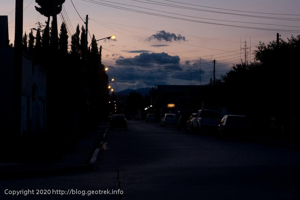 200120 エル・カラファテの夕暮れ