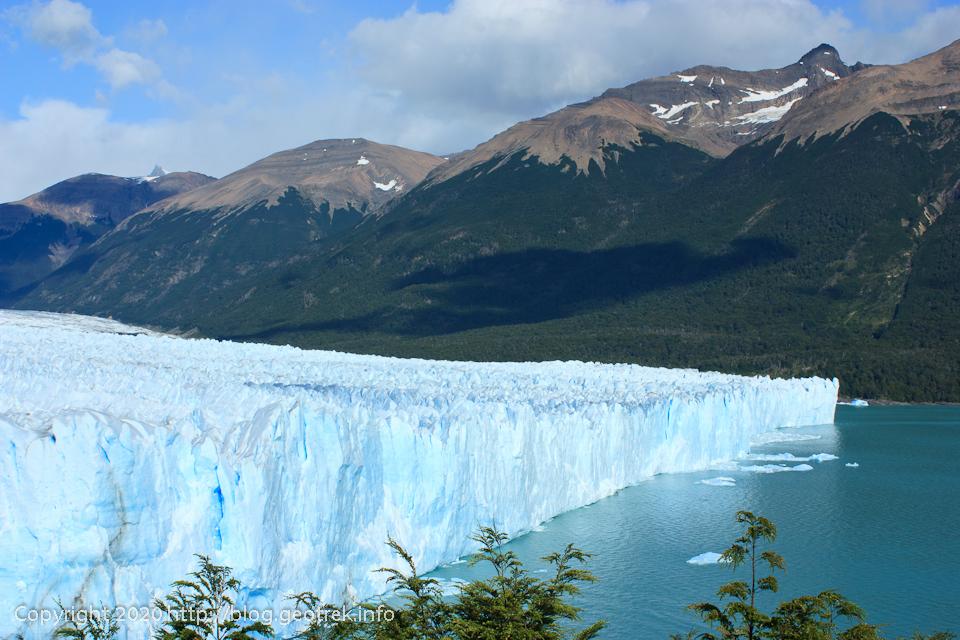 200121 ペリト・モレノ氷河、氷の断崖