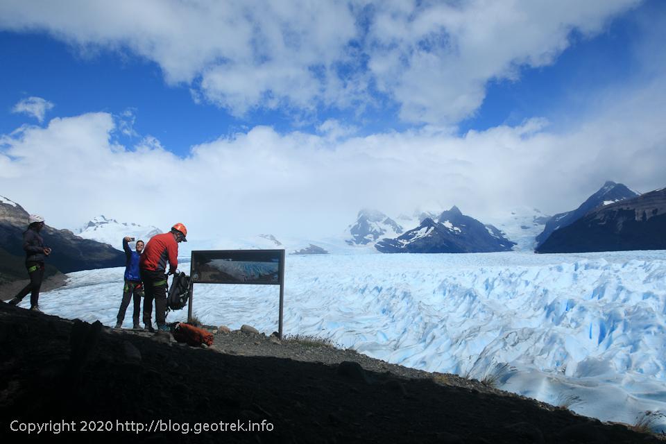 200121 いよいよペリトモレノ氷河に下り立つ