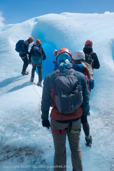 200121ペリト・モレノ氷河トレック、その1