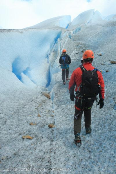 200121 ペリト・モレノ氷河トレック、その3