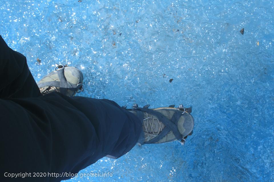 200121 ペリト・モレノ氷河トレック、その4