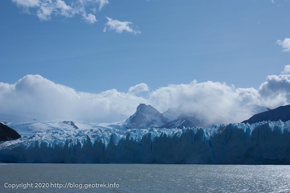 200121 船からペリト・モレノ氷河