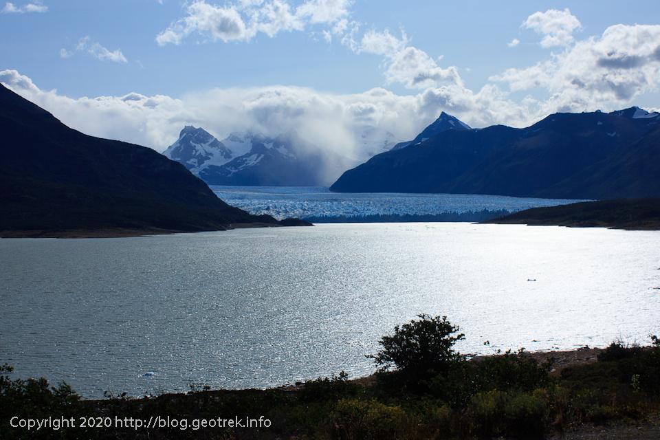 200121 最後の展望台からペリト・モレノ氷河