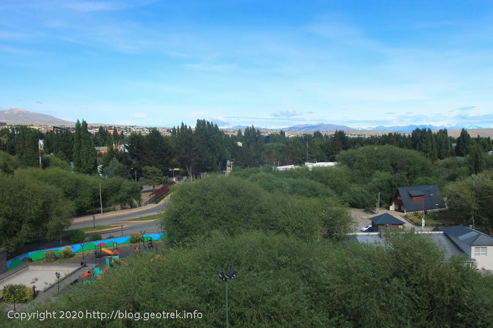 200121 エル・カラファテの公園からの眺め