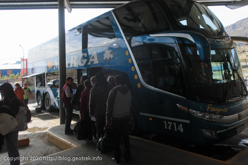 200121 リオ・ガジェゴスに向かうバス