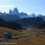 フィッツロイの登山基地、エル・チャルテン~アルゼンチン、パタゴニアの旅(3)