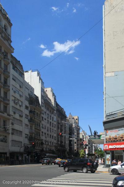 200125 ブエノスアイレス、サンタフェ通
