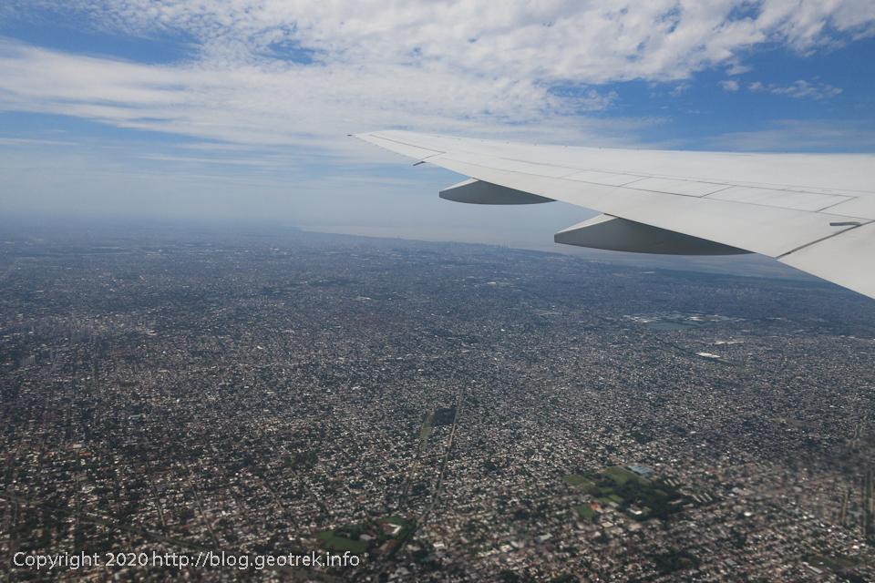 200126 ブエノスアイレス上空